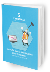 Book one: 5 mistakes made by small business IT
